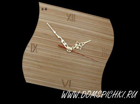 Часы из шпажек