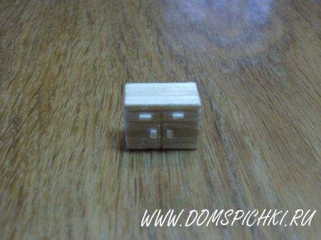 Мебель и бытовая техника из спичек