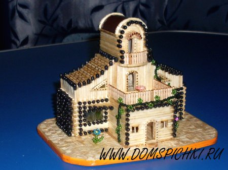 Дом с лианой