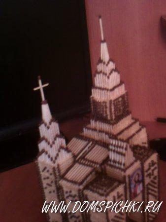 Церковь с башней и воротами