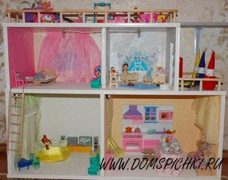 Мебель для кукольного домика