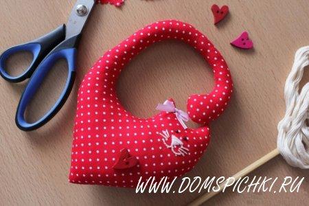 Влюбленная парочка на День Святого Валентина