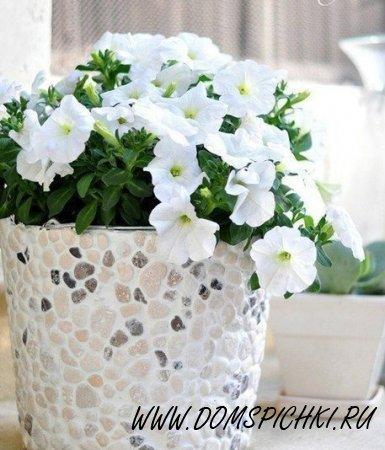 Оригинальное цветочное кашпо