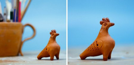 Свистулька «птичка» из глины своими руками
