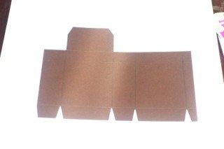 Винтажная коробочка с застежкой для колоды карт