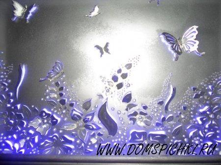 Картинка резная 3D с подсветкой