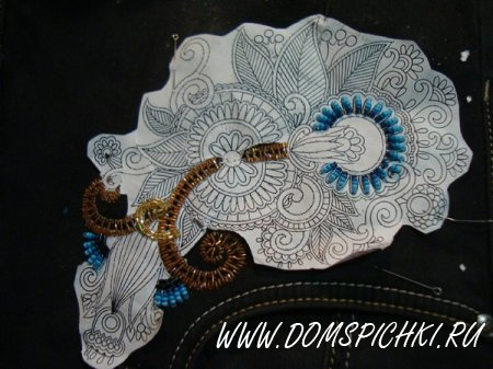 Декорируем одежду при помощи вышивки