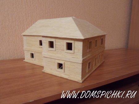 Макет будущего дома 2