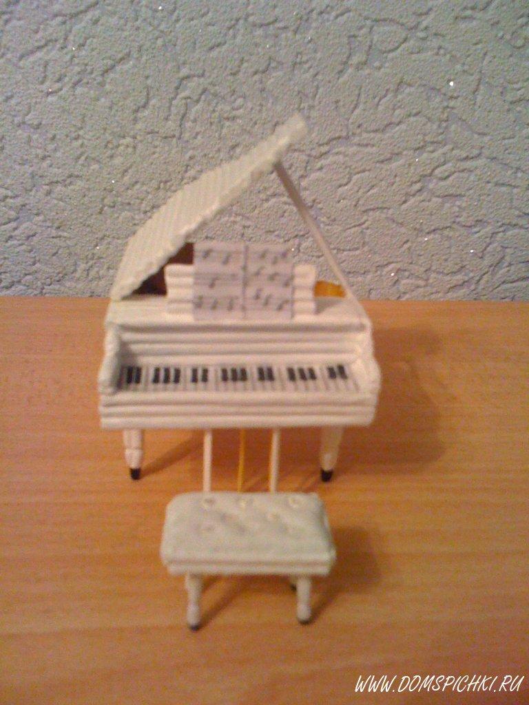 Поделка рояль своими руками 36