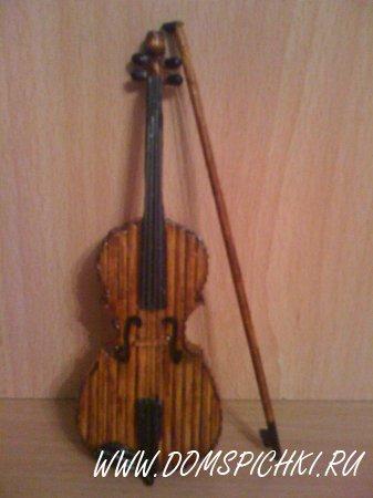 Скрипку сувенир своими руками 87