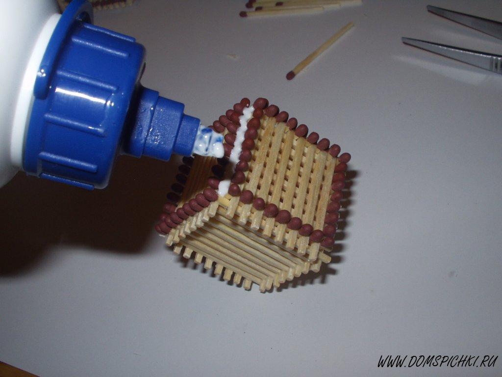 Как делать поделки без клея и без спичек