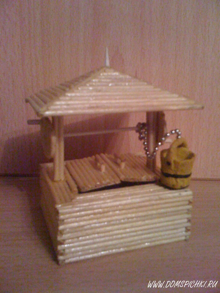 Дом из палок своими руками 1