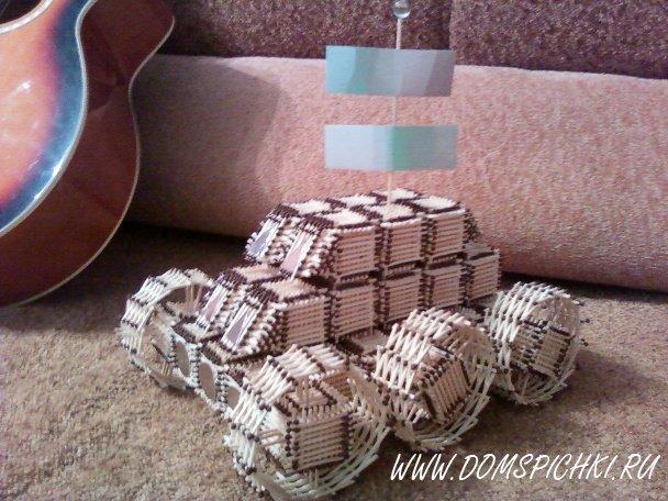Луноход из коробки своими руками 1199