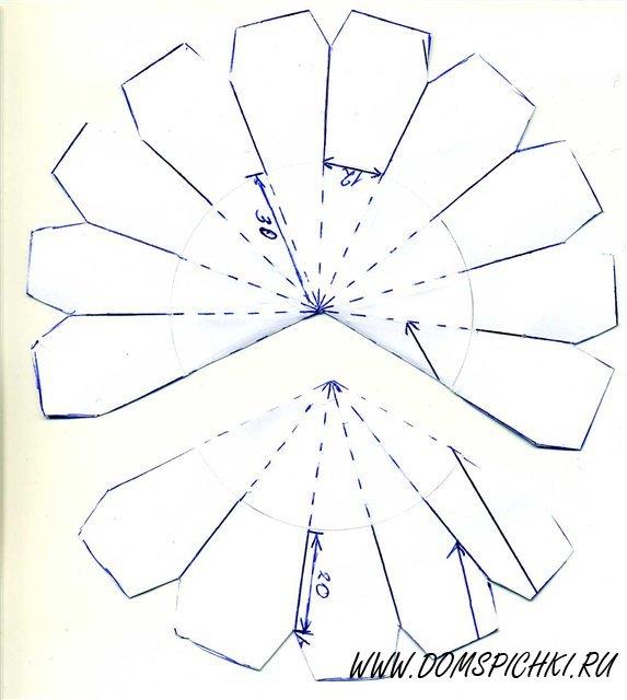 Купол церкви из бумаги своими руками