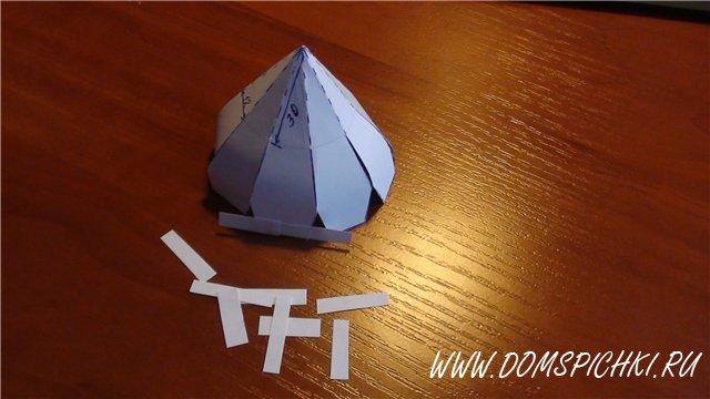 Сделать храм из картона