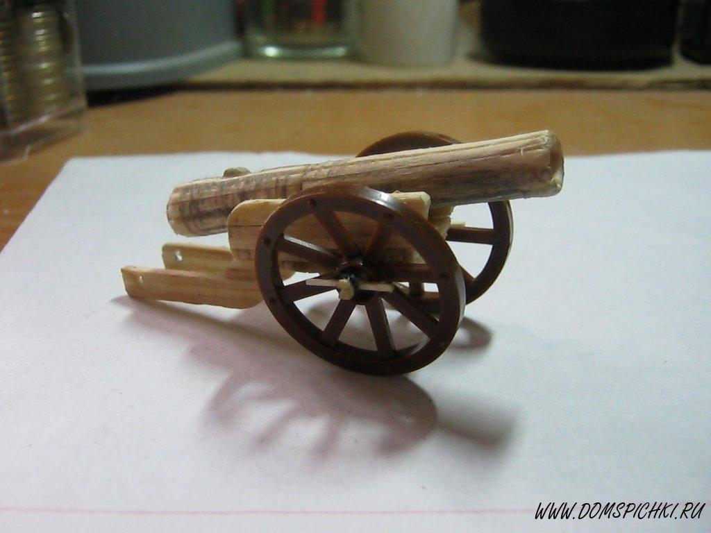 Пушка сделать из бумаги