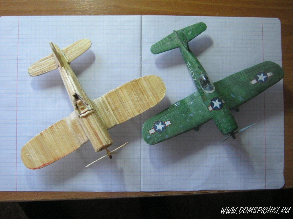 Самолет из природного материала своими руками 59