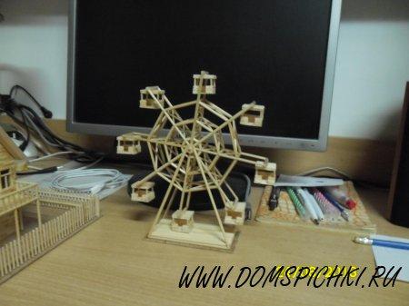 Как сделать колесо домиком
