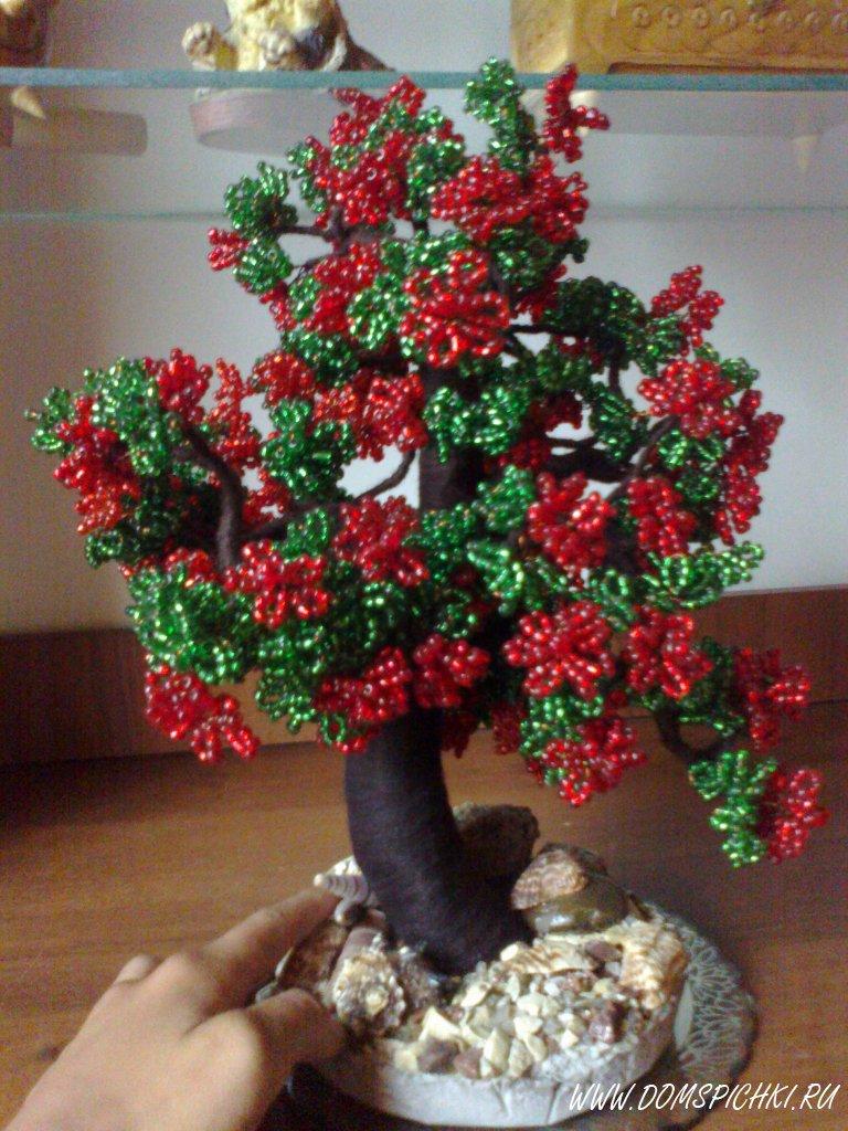 Как сделать цветущее дерево фото 483