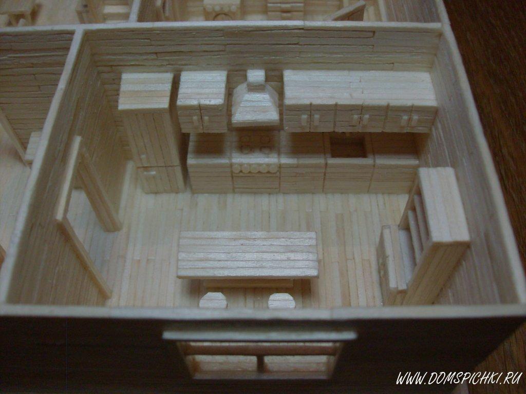 Модели домов своими руками фото
