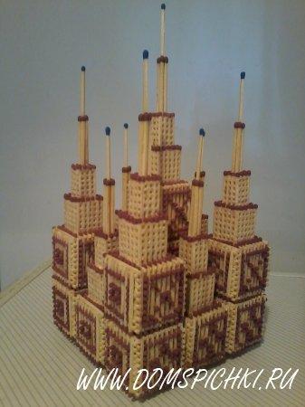 Как сделать замок из спичек своими руками 6